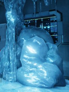 Замороженная консоль