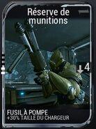 Réserve de munitions