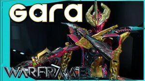 Warframe - HOW TO USE GARA - Sharp Glass Build