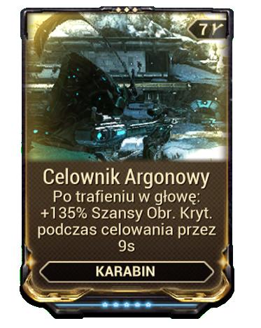 Celownik Argonowy