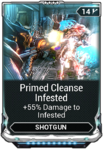 Primed Cleanse Infested