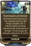 Incensario protector
