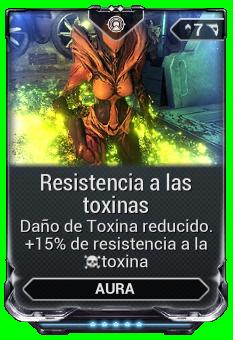 Resistencia a las toxinas