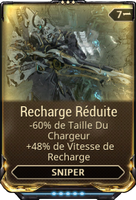 Recharge Réduite