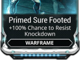 Primed Sure Footed