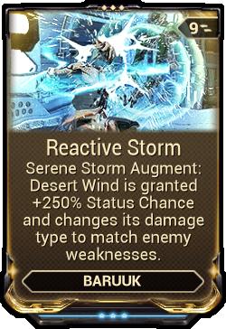 Reactive Storm
