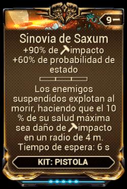 Sinovia de Saxum