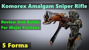 5 Forma Komorex Review (Amalgam Sniper Rifle)