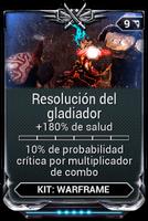 Resolución del gladiador