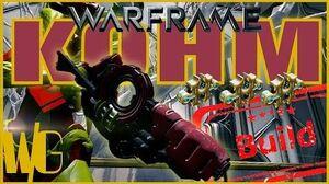 Warframe Builds - KOHM Plentiful Pellets 3 forma - Update 16