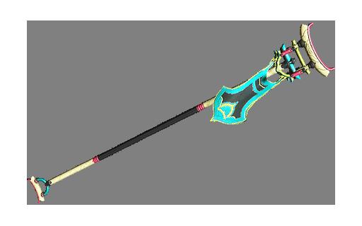 Diseño de armas de asta Rashasi