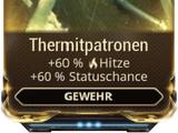 Thermit-Patronen