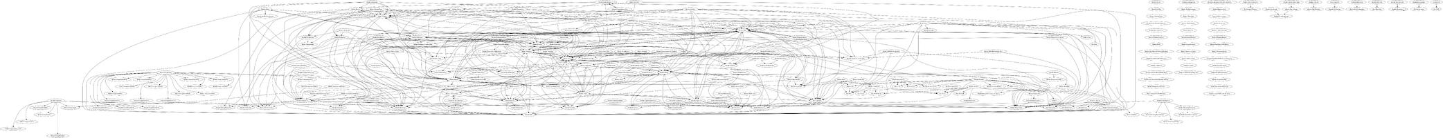 Wiki's codebase dependency graph as of 2021.08.07