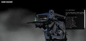 Dark dagger redesign