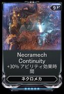 Necramech Continuity