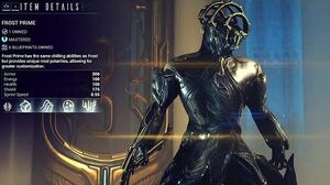 Warframe Codex - Prime Warframe Dioramas (2013)