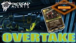 Warframe Operations - TACTICAL ALERT OVERTAKE GLAIVES STANCE MOD - Update 15