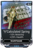 Calculated Spring