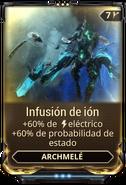 Infusión de ión
