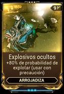 Explosivos ocultos