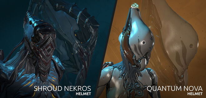 Nekros/Nova Cosmetic Helmets