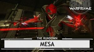 Warframe Mesa, Unloading Hard & Fast therundown