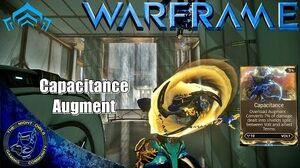 Warframe Volt's Capacitance Augment Mod Review
