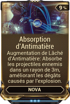 Absorption d'Antimatière