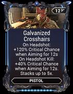Galvanized Crosshairs