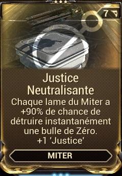 Justice Neutralisante