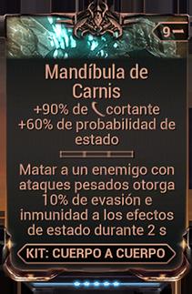 Mandíbula de Carnis