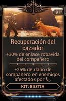 Recuperación del cazador