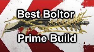 Best Warframe Boltor Prime Pro Build