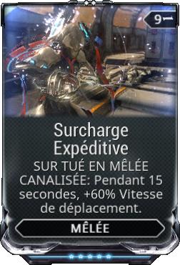 Surcharge Expéditive