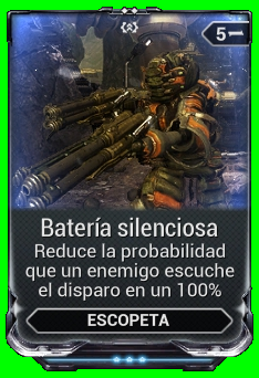 Batería silenciosa