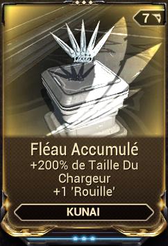 Fléau Accumulé