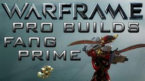 Warframe Fang Prime Pro Builds 1 Forma Update 13.4