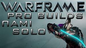 Warframe Nami Solo Pro Builds Update 13.5