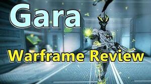 Gara, The Glass Defender (Warframe)