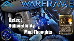 Warframe Helios Detect Vulnerability Syndicate Mod Review (U16.1