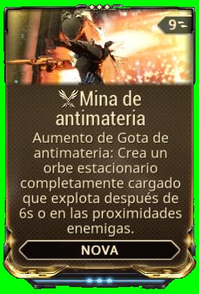Mina de antimateria