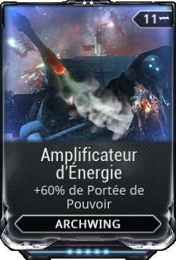 Amplificateur d'Énergie