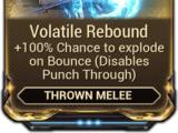 Volatile Rebound