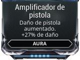 Amplificador de pistola