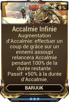 Accalmie Infinie