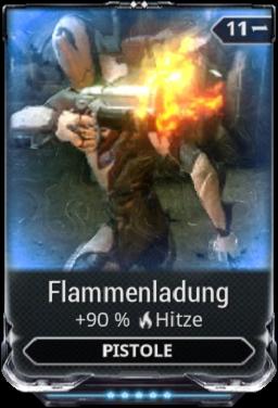 Flammenladung