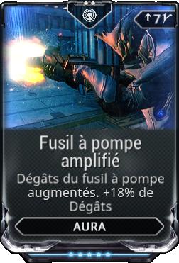 Fusil à pompe amplifié