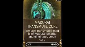 WARFRAME - A Simple Treatise to the Methods of Sustainable Transmutation