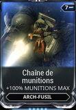 Chaîne de munitions