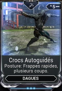 Crocs Autoguidés